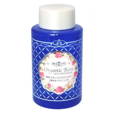 """Meishoku """"Skin Conditioner"""" Лосьон-кондиционер для кожи лица с экстрактом дамасской розы, с экстрактом плаценты и осветляющим эффектом, 200 мл. (фото, вид 1)"""