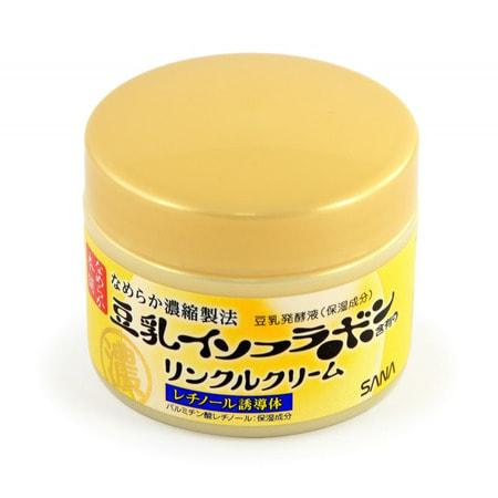 "Sana ""Wrinkle Cream"" Увлажняющий и подтягивающий крем с ретинолом и изофлавонами сои, 50 г. (фото, вид 1)"