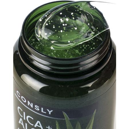 """Consly """"Cica & Aloe All-in-One Ampoule"""" Многофункциональная успокаивающая ампульная сыворотка с центеллой азиатской и алоэ, 250 мл. (фото, вид 2)"""
