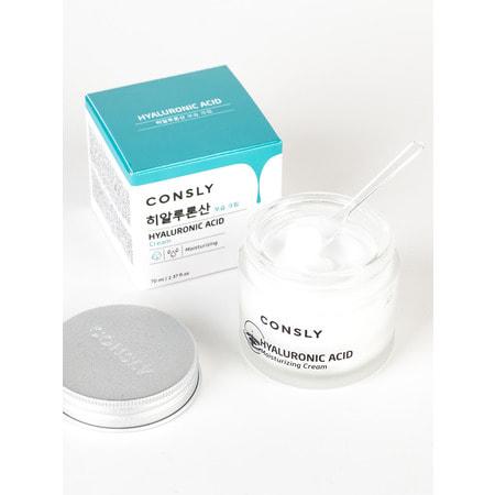 "Consly ""Hyaluronic Acid Moisturizing Cream"" Крем для лица увлажняющий с гиалуроновой кислотой, 70 мл. (фото, вид 1)"