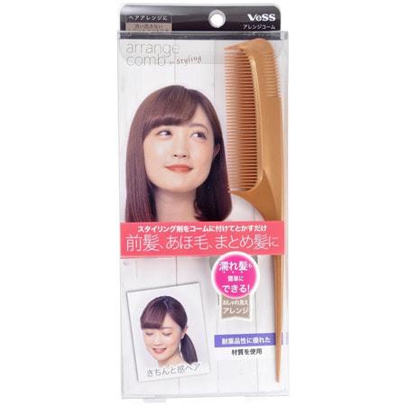 """Vess """"Arrange Comb For Styling"""" Расческа-гребень для укладки волос с частыми зубцами. (фото, вид 2)"""