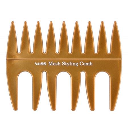 "Vess ""Mesh Styling Comb"" Гребень с широкими зубчиками для укладки волос. (фото, вид 1)"