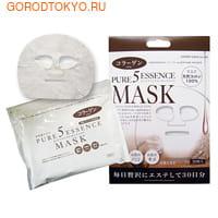 """Japan Gals """"5 Pure Essence"""" Маска для лица ежедневная с коллагеном, 30 масок в упаковке! (фото, вид 1)"""