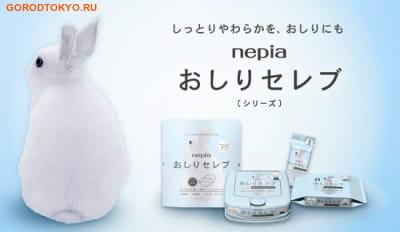 """NEPIA Туалетная бумага двухслойная """"Nepia Seleb"""", 4 рулона по 35 метров. (фото, вид 1)"""