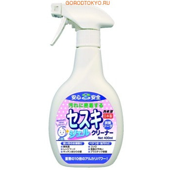 KANEYO Чистящий гель для кухни на основе пищевой соды, 400 мл.