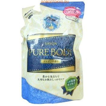 Фото Mitsuei Увлажняющее крем-мыло для тела с гиалуроновой кислотой, коллагеном и экстрактом алоэ, с ароматом мыла, мягкая упаковка, 400 мл.. Купить с доставкой