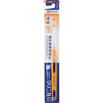 """Lion """"Clinica"""" 3-рядная зубная щётка с плоским срезом, средней жёсткости, 1 шт."""