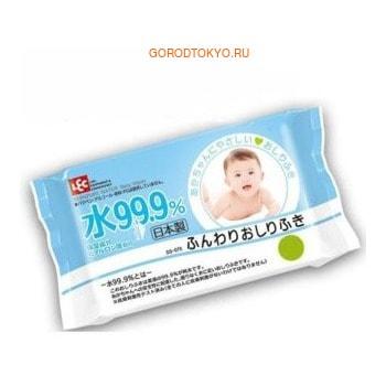 LEC Детские влажные салфетки, голубая пачка, 80 шт. от GorodTokyo
