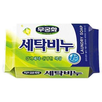 MUKUNGHWA «Laundry soap» Универсальное хозяйственное мыло для стирки и кипячения, 230 г. от GorodTokyo