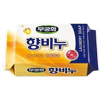 MUKUNGHWA «Laundry soap» Ароматизирующее хозяйственное мыло для стирки и кипячения, 230 г.