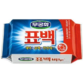 """Mukunghwa 400275 MKH Отбеливающее и пятновыводящее хоз. мыло """"Laundry soap"""" д/стирки цветного белья 230гр/32"""
