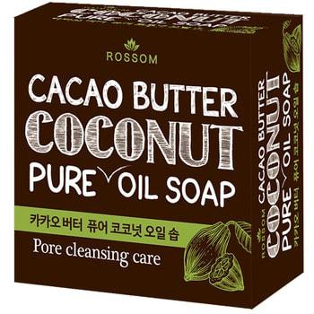 MUKUNGHWA Мыло туалетное твёрдое из 100% масла кокоса, с добавлением какао масла, 100 г.Косметическое мыло<br>Высококачественная основа из 100% кокосового масла создает обильную пену, а мельчайшие пузырьки очень мягко и нежно воздействуют на кожу.  Входящее в состав масло какао богато природными антиоксидантами - полифенолами, а масло ши обладает выраженными увлажняющими свойствами, помогает сохранять влагу в коже и способствует ее красоте.<br>