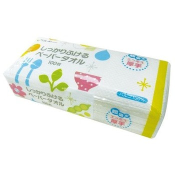 Life-do Бумажные полотенца для кухни, плотные, тиснёные, 100 шт. от GorodTokyo