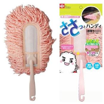 LEC Щетка для удаления пыли, из микрофибры, с пластмассовой ручкой, 1 шт.
