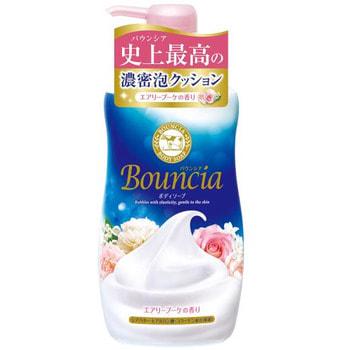 """COW 008280 COW Сливочное жидкое мыло """"Bouncia"""" для рук и тела с ароматом роскошного букета (дозатор) 500 мл /12 (фото)"""