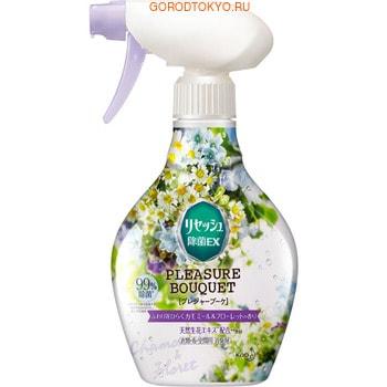 KAO «Resesh EX, Pleasure Bouquet» Дезодорант для дома и одежды с антибактериальным эффектом, аромат ромашки, 370 мл.