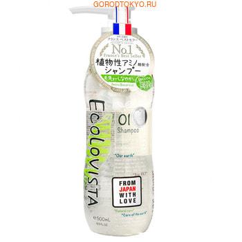 ECOLOVISTA «Smooth Repair» Шампунь для волос «Восстановление», 500 мл.СРЕДСТВА БЕЗ СИЛИКОНА - КЛАСС ПРЕМИУМ!<br>Натуральный бессиликоновый шампунь для плотных, поврежденных и непослушных волос с аминокислотами, натуральными маслами и семенами моринги.  Прекрасно очищает кожу головы и волосы, восстанавливая их по всей длине.  Благодаря природным ингредиентам после использования волосы становятся послушными и легкими, увеличивается прикорневой объем. Содержит 7 сортов органических масел: ши, оливковое, аргановое, кокосовое, миндальное, бергамота, а также 10 видов растительных экстрактов: дамасской розы, цветов лаванды, розы, листьев шалфея, мелиссы, тысячелистника, мяты перечной, семян моринги, лимона. Входящие в состав экстракт дамасской розы и аргановое масло питают и увлажняют кожу головы, восстанавливая ломкие волосы и избавляя их от секущихся кончиков. Мелисса и семена моринги укрепляют луковицы и основание волоса, нормализируя работу сальных желез, восстанавливает поврежденные или слабые корни и разглаживает волосы по всей длине.  Ментол очищает кожу и придает волосам блеск и силу. Обладает свежим цветочным ароматом с нотами розы, бергамота и мелиссы. Рекомендуем шампунь для глубокого очищения кожи головы и волос, восстановления их структуры, обладателям кудрявых непослушных волос или жирной кожи головы. Шампунь для ежедневного применения без силиконов.  Подходит для окрашенных волос. Рекомендуется использовать вместе с кондиционером или маской ECOLOVISTA Smooth Repair.<br> Состав: Вода, лауроил метилаланин натрия, натрия С14-16 олефин сульфонат, кокамидопропил бетаин, кокамид метил МЕА, глицерин, масло ши, экстракт дамасской розы, оливковое масло, экстракт цветов лаванды, аргановое масло, кокосовое масло, масло ши глицелакс 8 эстерс, миндальное масло, экстракт бергамота, экстракт розы канина, экстракт листьев шалфея,цветы/листья/стебли мелиссы, масло бергамота, экстракт тысячелистника, экстракт листьев мяты перечной, экстракт семян моринги, экстракт лимона, гиа