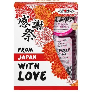 Japan Gateway «Reveur Scalp» Набор подарочный «Мирёку» по уходу за волосами (шампунь + кондиционер).
