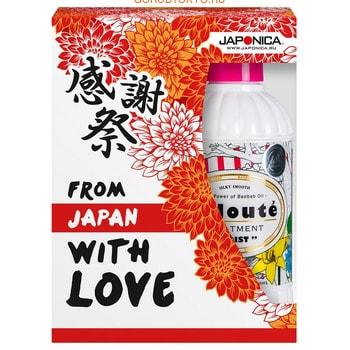 Japan Gateway «Voloute Moist» Набор подарочный «Сати» по уходу за волосами (шампунь + кондиционер). japan gateway voloute кондиционер для волос увлажнение запасной блок 360 мл