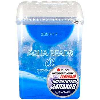 NAGARA «Aqua Beads» Арома-поглотитель запаха гелевый, 360 г. поглотители запаха nagara nagara aqua beads поглотитель запаха гелевый 360 гр