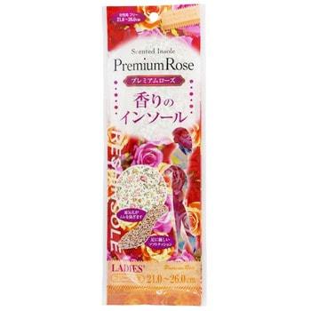 Fudo Kagaku Женские дышащие стельки с ароматом розы, 21-26 см. от GorodTokyo