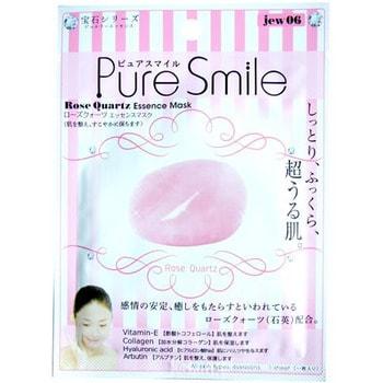 SUN SMILE «Pure Smile Luxury» Расслабляющая маска для лица, с микрочастицами розового кварца, 1 шт.КОРЕЙСКАЯ КОСМЕТИКА<br>Драгоценная маска обеспечит Вашей коже королевский уход! Микрочастицы розового кварца, оказывают действие мягкого пилинга, удаляют ороговевшие клеточки, делая кожу невероятно нежной, мягкой, обновленной и сияющей.  Розовый кварц делает тон кожи более ровным, стимулирует регенерацию, разглаживает морщинки.  Коллаген в составе сыворотки возвращает коже плотность и упругость, гиалуроновая кислота наполняет влагой каждую клеточку.  Витамин Е заряжает кожу энергией, выравнивает тон кожи.   Применение: вскройте пакет с маской и нанесите ее на очищенное лицо, используя отверстия для глаз в качестве ориентиров. Расслабьтесь и наслаждайтесь уходом за собой. Через 10-15 минут аккуратно снимите маску. Остатки сыворотки вбейте в кожу подушечками пальцев. Использовать 2-3 раза в неделю.  Состав: глицерин, сополимер PEG/PPG-17/6, экстракт соевой закваски, глицирризинат двукалия, ксантановая камедь, экстракт портулака, арбутин, эритритол, PEG-14M, гиалуронат натрия, EDTA-2Na, метилпарабен, PEG-40-гидрогенизированное касторовое масло, гидролизированный коллаген, порошок из розового кварца, PEG-60-гидрогенизированное касторовое масло, алантоин, феноксиэтанол, ароматизатор, токоферола ацетат.<br>
