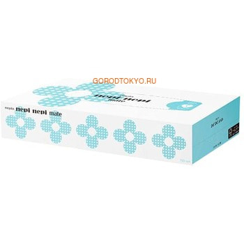 NEPIA «Nepi Nepi Mate» Бумажные двухслойные салфетки, 150 шт.