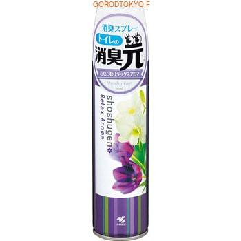 KOBAYASHI «RelaxAroma» Освежитель-аэрозоль для туалета, 280 мл. kobayashi освежитель воздуха для туалета kaori kaoru – аромат белой и лиловой лаванды 140 гр