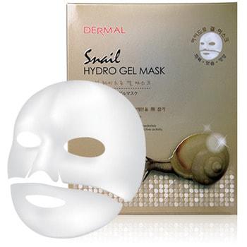 Dermal «Snail Hydro gel mask» Гидрогелевая маска со слизью улитки и экстрактами трав, 1 шт.