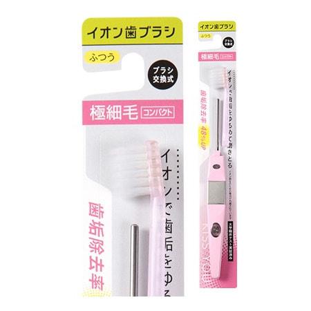 Hukuba Dental Ионная зубная щётка супер-компактная, средней жёсткости, ручка + 1 головка.