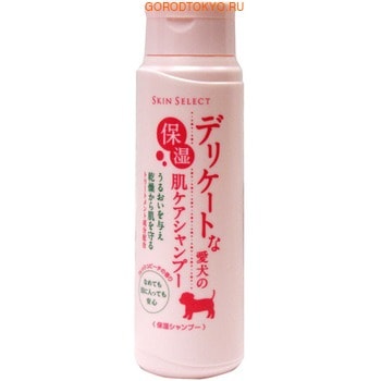 EARTH BIOCHEMICAL Шампунь увлажняющий для домашних собак, с ароматом сочных персиков (шаг 2), 350 мл.
