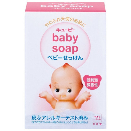 """COW """"Кьюпи"""" Детское туалетное мыло, 90 гр."""