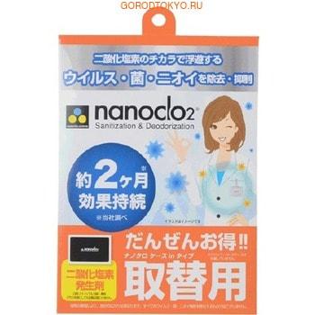 PROTEX «Nanoclo2» Блокатор вирусов для индивидуальной защиты, сменная карта, 1 шт. - защита на 2 месяца. (фото)