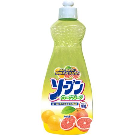 """Kaneyo """"Kaneyo - грейпфрут"""" Жидкость для мытья посуды, 600 мл."""