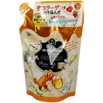 COSME COMPANY «Body Soap HM» Жидкое мыло для тела, с тропическими маслами, без силикона (с ароматом мёда, ванили и цитрусовых), запасной блок, 420 мл.