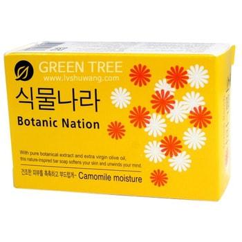 CJ LION «Botanical Nation» Мыло туалетное с экстрактом ромашки, 100 г.