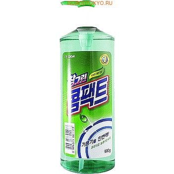 "CJ Lion ""Chamgreen"" Концентрированное средство для мытья посуды, 580 мл."