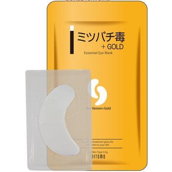 Mitomo Патчи для глаз «Пчелиный яд + золото», 1 пара. (фото)