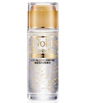 SQUEEZE «Gold Blossom» Увлажняющий лосьон для лица и тела с золотом, гиалуроновой кислотой и коллагеном, 120 мл.