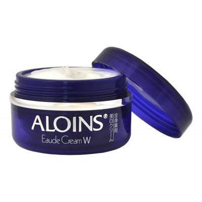 """Aloins """"Eaude Cream W"""" Увлажняющий крем для лица и тела с экстрактом алоэ и плацентой, 120 г. (фото)"""