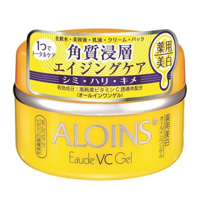 Aloins «Eaude VC Gel» Крем-гель для лица и тела с экстрактом алоэ и витамином С, 100 г. (фото)