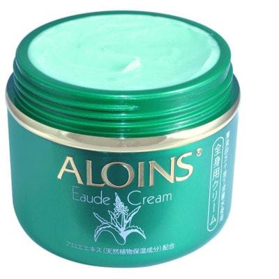 """Aloins """"Eaude Cream"""" Крем для тела с экстрактом алоэ (с лёгким ароматом трав), 185 г. (фото)"""