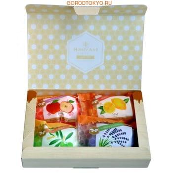 MASTER SOAP «Honey soap set» Набор «Мёд и травы», 4 шт. х 70 г. (фото)