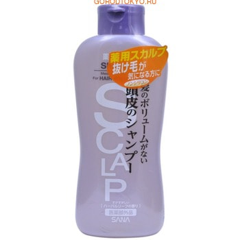 SANA «Scalp Shampoo Delicate» Шампунь для чувствительной кожи головы, придающий объём, 250 мл.