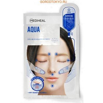 MEDIHEAL «Aqua Chip Circle Point Mask» Маска для лица успокаивающая с массажным эффектом, 25 мл.