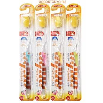 """Dental Care """"Nano Gold Toothbrush"""" Зубная щётка c наночастицами золота и сверхтонкой двойной щетиной (мягкой и супермягкой), 1 шт. (фото)"""