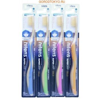 """Dental Care """"Nano Gold Toothbrush"""" Зубная щётка c наночастицами золота и сверхтонкой двойной щетиной (средней жёсткости и мягкой), 1 шт. (фото)"""