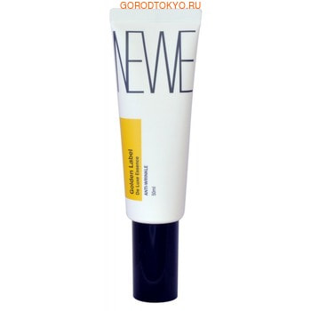 NEWE «Golden Label de Luxe Essence Anti-Wrinkle» Антивозрастная эссенция с частицами золота, 50 мл. (фото)