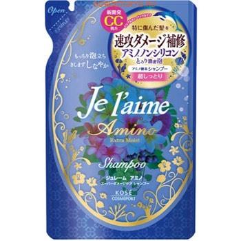 Купить со скидкой KOSE Cosmeport «Je l'aime - Amino» Шампунь с аминокислотами для повреждённых волос «Экстраувлажнение