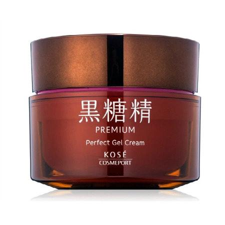 KOSE Cosmeport «Kokutousei Premium» Суперувлажняющий гель-крем для лица «Всё в одном», на основе экстракта сахарного тростника, 100 г.